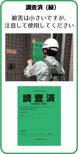 調査済(緑)